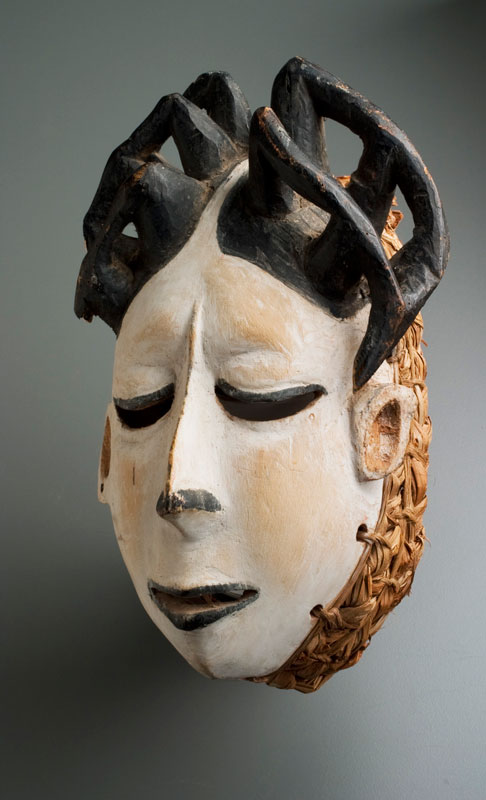 African Mask, wood