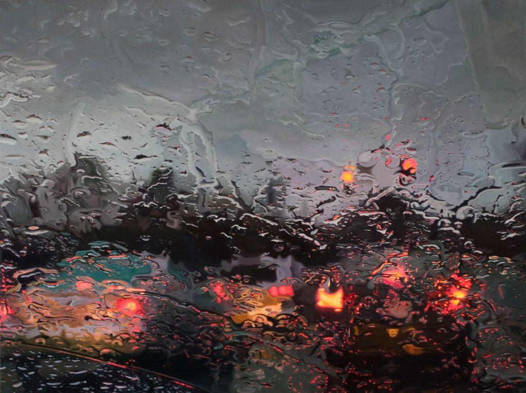 Gregory Thielker, oil paint