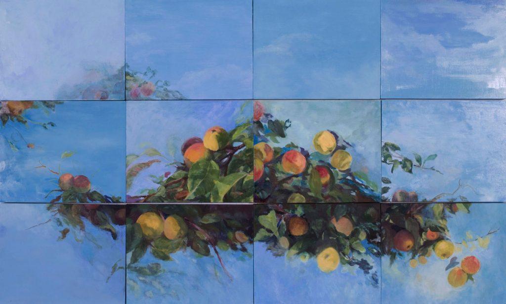 Margery Hamlen, oil paint